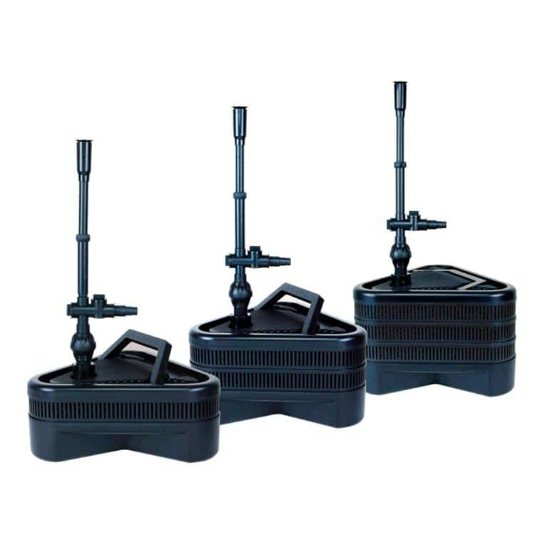Lifegard all in one double pondscape online for Small pond pump filter combo