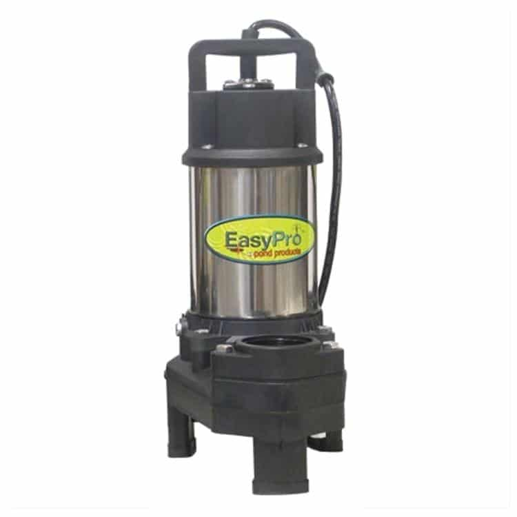 Easypro 1 4hp pump 3100gph pondscape online for Best water pump for pond