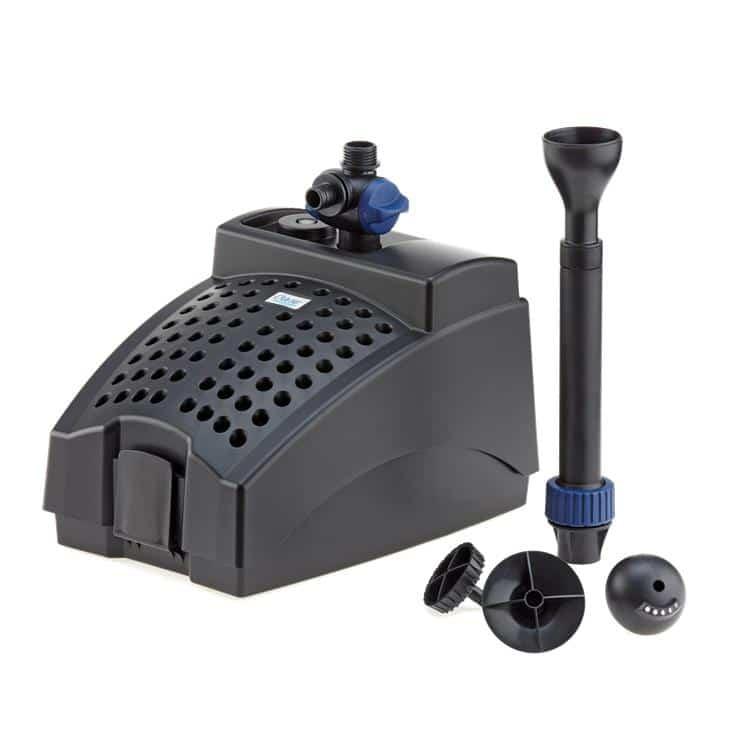 Oase filtral uvc 1200 filter 9w uv with pump pondscape for Aquagarden 1200 pond pump