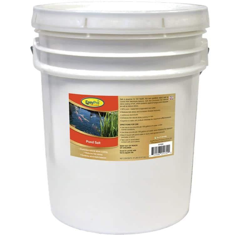 Easypro pond salt 50lb pondscape online for Salt in koi pond